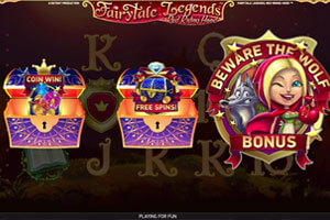 Fairytale Legends: Red Riding Hood - новый слот от NetEnt